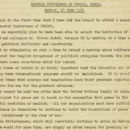 Letter : 1951 June 18