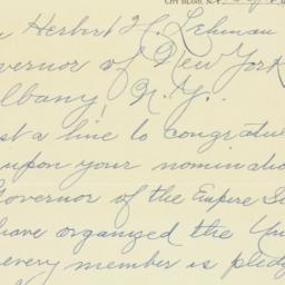 Letter : 1936 October 2