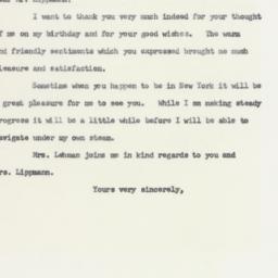 Telegram : 1963 April 5