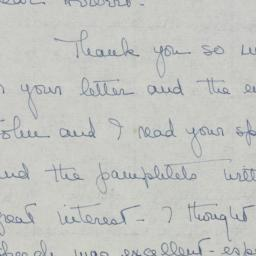 Letter : 1947 May 27