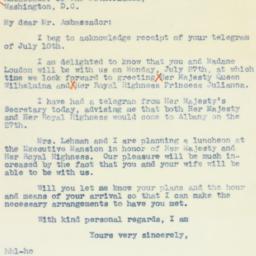 Letter: 1942 July 13