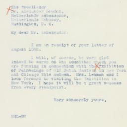 Letter: 1942 August 18