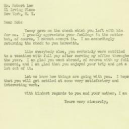Letter : 1950 January 3