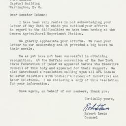 Letter: 1955 July 30