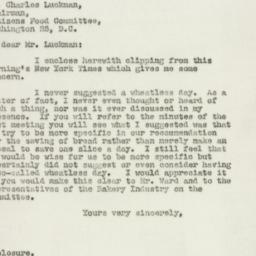 Letter : 1947 October 23