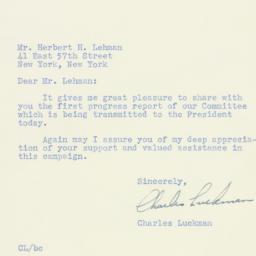 Letter: 1947 November 5