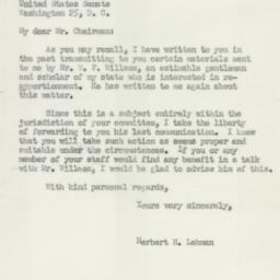 Letter: 1950 August 12