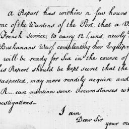 Document, 1796 October 11