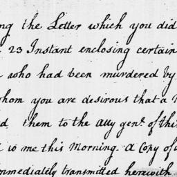 Document, 1796 September 28