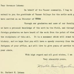 Letter : 1946 March 18