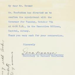 Letter : 1941 October 3