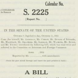 Letter: 1952 April 18