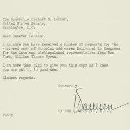 Letter : 1952 October 23