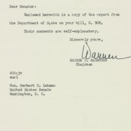 Letter: 1955 April 14