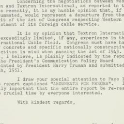 Letter : 1955 August 30