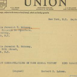 Letter: 1937 September 18