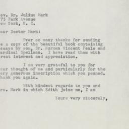 Letter : 1954 December 18