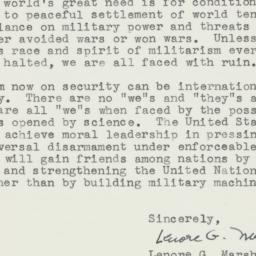 Letter : 1955 February 24