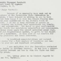 Letter: 1962 September 19