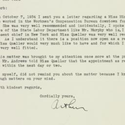 Letter : 1934 December 5