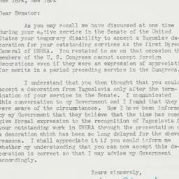 Letter: 1957 January 14
