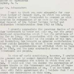 Letter : 1957 January 23
