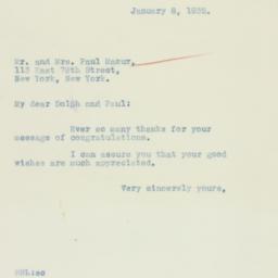 Letter : 1935 January 8