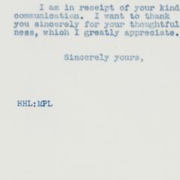 Letter : 1937 August 9