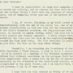 Letter : 1933 December 18