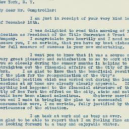 Letter : 1933 December 20