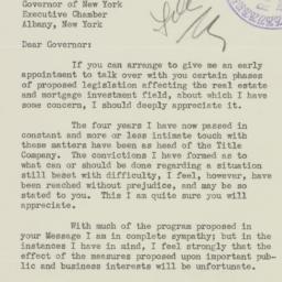 Letter : 1938 February 2