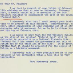 Letter : 1940 February 19