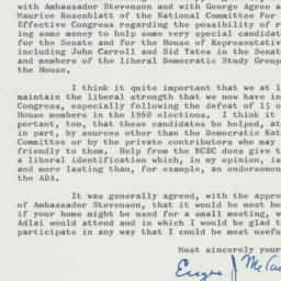 Letter : 1962 August 29