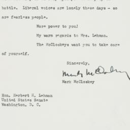 Letter : 1953 July 9