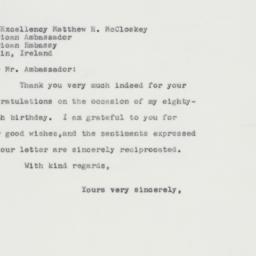 Letter : 1963 April 2