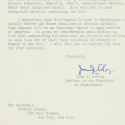Letter : 1961 August 21