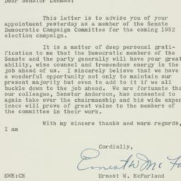 Letter : 1951 July 25