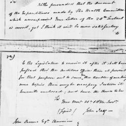 Document, 1796 January 29