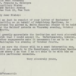 Letter : 1945 September 11