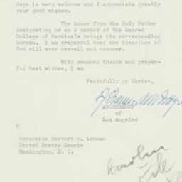Letter : 1952 December 17
