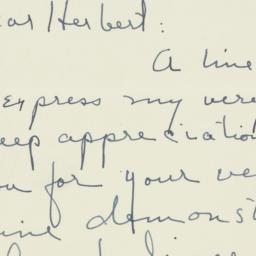 Letter: 1950 September 2