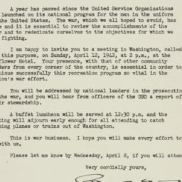 Letter : 1942 March 30