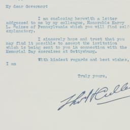 Letter : 1937 April 6