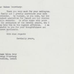 Letter : 1964 January 14