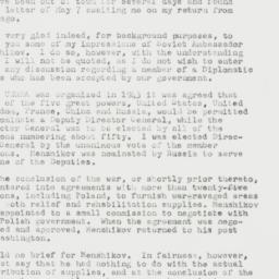 Letter : 1958 May 14