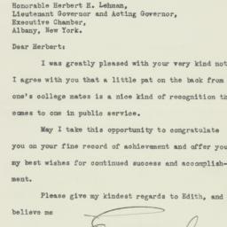 Letter: 1931 December 8