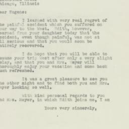 Letter : 1952 February 19