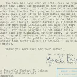 Letter: 1952 April 14