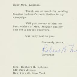 Letter : 1957 October 21
