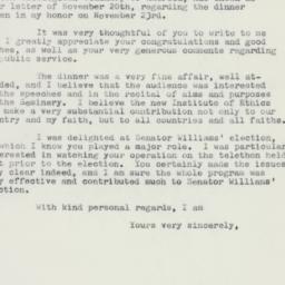Letter : 1958 November 28